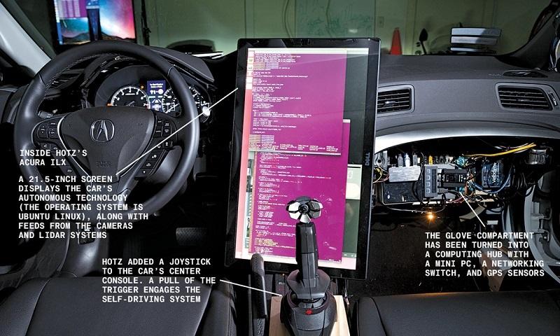 Genç Yaşta Iphoneu Hackleyen Ilk Kişi Garajında Sürücüsüz Araba