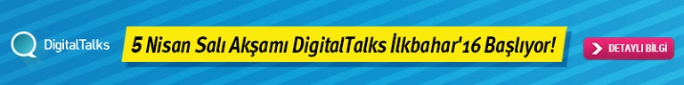 DigitalTalks İlkbahar'16- Banner