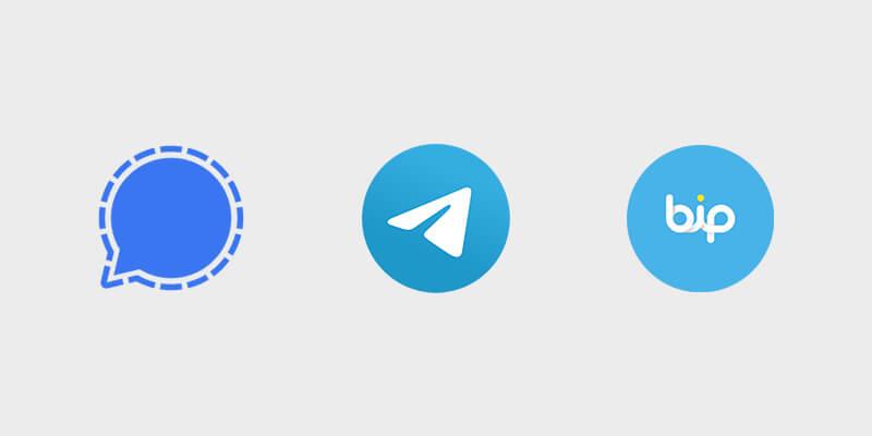Signal Telegram Bip